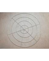 Металлический каркас круг