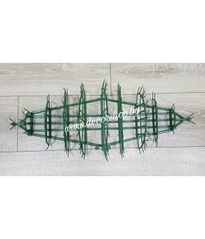 Пластмассовый каркас для икебан 62х29 см