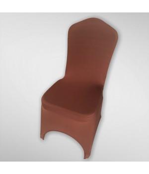 Чехол из спандекса шоколадный цвет
