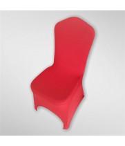 Чехол из спандекса красный с вырезом для ног