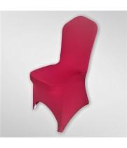 Чехол из спандекса бордовый с вырезом для ног