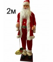 Двухметровый Дед Мороз №33
