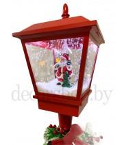 Новогодний декоративный фонарь