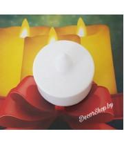 Новогодние свечи декоративные на батарейках