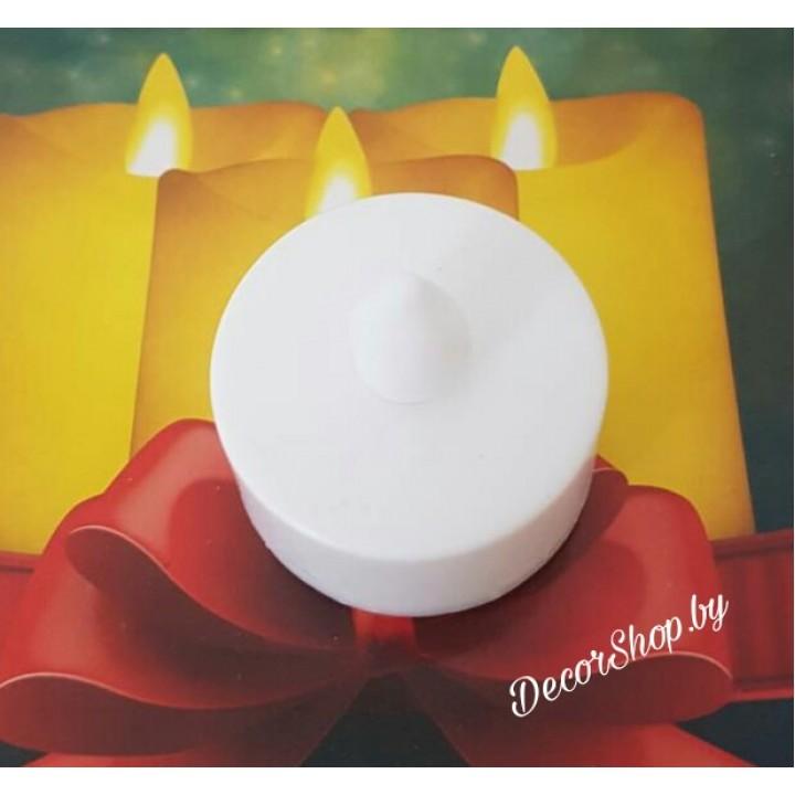 Свечи-таблетки декоративные на батарейках