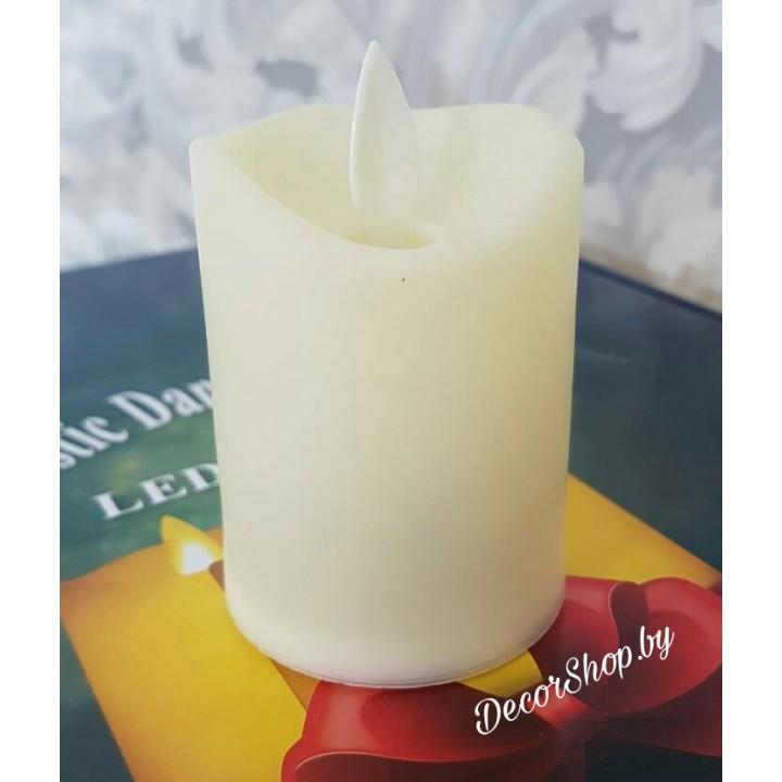 Свечи с эффектом мерцания пластиковые без воска