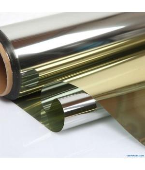 Двустороннее зеркальное покрытие золото/серебро