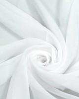 Шифон белый