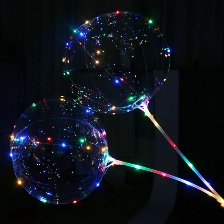 Прозрачные шары с подсветкой