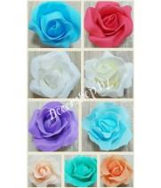 Бутоны роз из вспененного латекса 8 см
