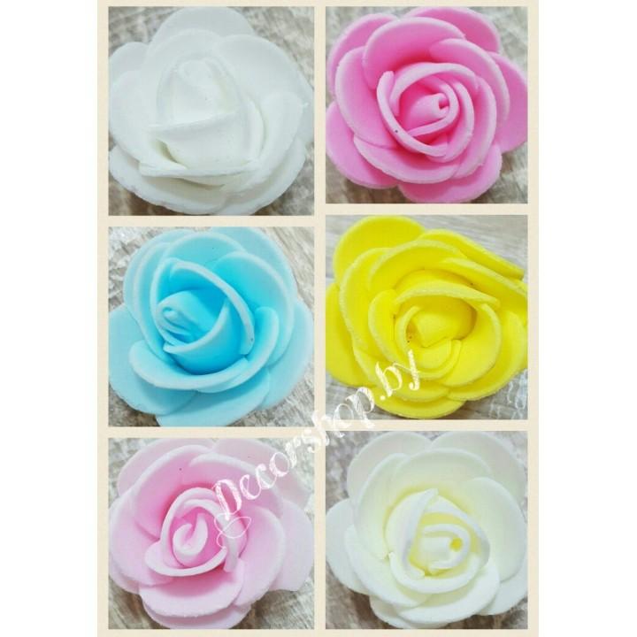 Бутоны роз из вспененного латекса 3см